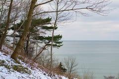 Coast of the Baltic sea. Kaliningrad region of Russia. Baltic sea Royalty Free Stock Photography