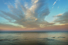 Coast of Baltic sea. Royalty Free Stock Photography