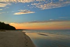 Coast of Baltic sea. Royalty Free Stock Image