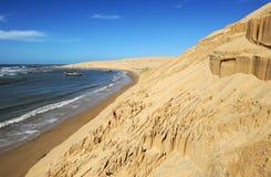 The coast at Barra de Valizas Stock Photo