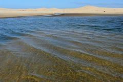 The coast at Barra de Valizas Stock Photos