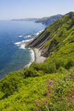 Coast of the Basque Country Stock Image