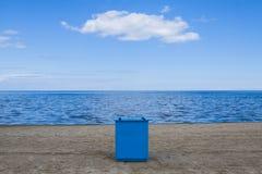 Coast, beach with calm seas. Royalty Free Stock Photo