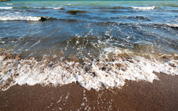 Coast of beach at day Royalty Free Stock Image