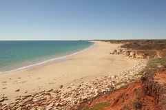 Coast and beach near Broome in Western Australia Royalty Free Stock Photo