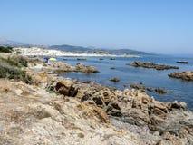 Coast and beaches of northeast Sardinia Royalty Free Stock Image