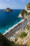 The coast of Bergeggi Royalty Free Stock Photo