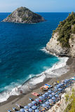 The coast of Bergeggi Stock Photography