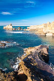 Coast of Biarritz. Coast of the village of Biarritz, France Stock Photos