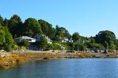 The Coast of Bibber's Island Royalty Free Stock Image