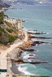 Coast of the Black sea Stock Images