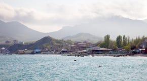 Coast of the Black sea royalty free stock photo