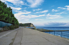 Coast of the black sea Royalty Free Stock Image