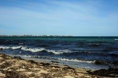 Coast of the Black Sea. Evpatoria. Crimea. Royalty Free Stock Photo