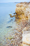 Coast of the black sea Stock Image