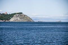 Coast of the Black Sea. The town of Partenit. Crimea Stock Photos