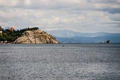 Coast of the Black Seaa. Royalty Free Stock Photo