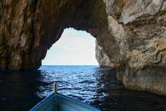 Coast at Blue Grotto in the Malta island. The coast at Blue Grotto in the Malta island Royalty Free Stock Image