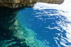 Coast at Blue Grotto in the Malta island. The coast at Blue Grotto in the Malta island Stock Photo