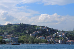 Coast of the Bosphorus Royalty Free Stock Photo