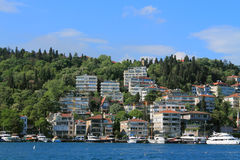 Coast of the Bosphorus Royalty Free Stock Image