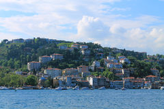 Coast of the Bosphorus Royalty Free Stock Images