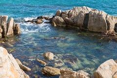 Coast Brave (Costa Brava) - Girona (Spain). Landscapes and details of the Coast Brave (Costa Brava) in Girona (Spain Stock Photos