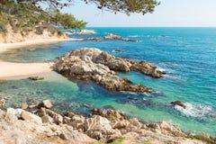 Coast Brave (Costa Brava) - Girona (Spain). Landscapes and details of the Coast Brave (Costa Brava) in Girona (Spain Royalty Free Stock Images