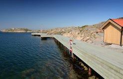 Coast bridge Stock Image