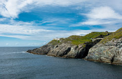 Coast and Bridge at Mizen Head Stock Image