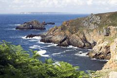 Coast of britain,landscape Royalty Free Stock Images