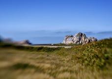 Coast in Brittany France near Sillon de Talbert Stock Image