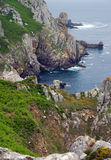Coast in Brittany Stock Photography
