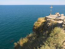 Coast in Bulgaria Stock Image
