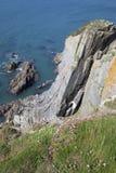 Coast at Burgh Island, Devon Stock Photos