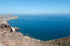 Coast of Cabo de Gata Stock Photo