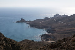 Coast of Cabo de Gata Royalty Free Stock Images
