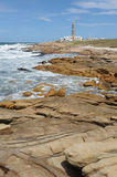 The coast at Cabo Polonio Stock Images