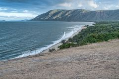 Coast between Cairns and Port Douglas Royalty Free Stock Image