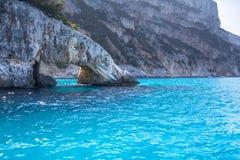 A view of Cala Goloritze beach, Sardegna Royalty Free Stock Image