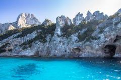 A view of Cala Goloritze beach, Sardegna Royalty Free Stock Photo
