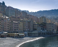 Coast of Camogli Stock Images