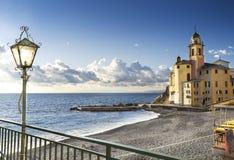 Coast of Camogli Stock Images