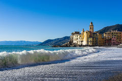 The coast of Camogli Royalty Free Stock Photo