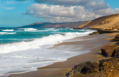 Coast the Canary Islands Royalty Free Stock Photos