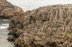 Coast of Cantabria Royalty Free Stock Images