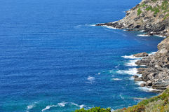 Coast of Cap Corse Royalty Free Stock Images