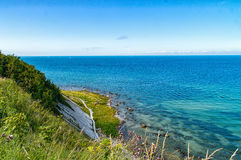 Coast of Cape Arkona Royalty Free Stock Images