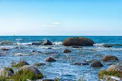 Coast of Cape Arkona Stock Photo