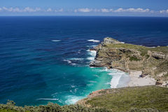 The coast at Cape Point in South Africa Royalty Free Stock Photo